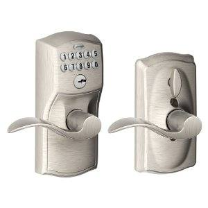Residential locksmith Spokane keyless entry lock