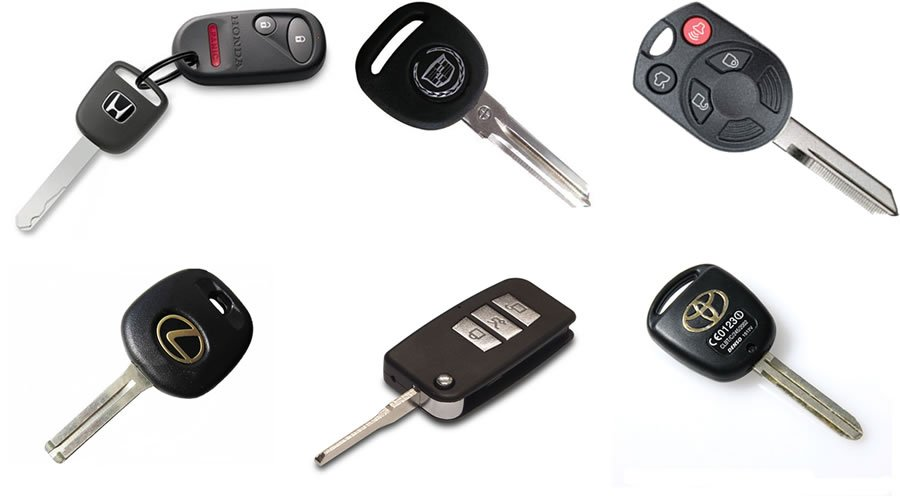 Locksmith Spokane Transponder keys
