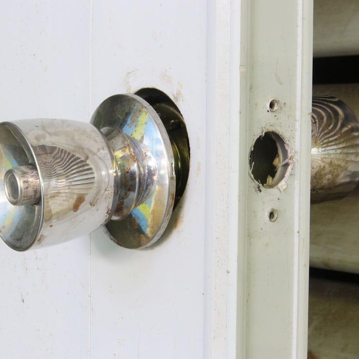 Loose door lock issues