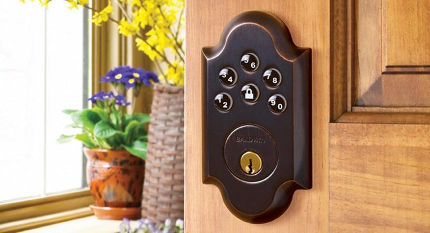 keyless entry door lock Spokane locksmith